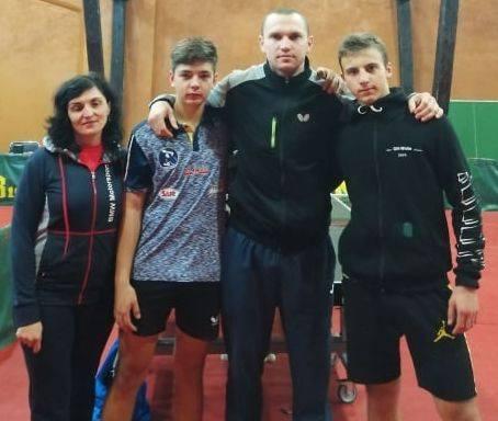 На престижных сборах под Киевом побывали измаильские теннисисты