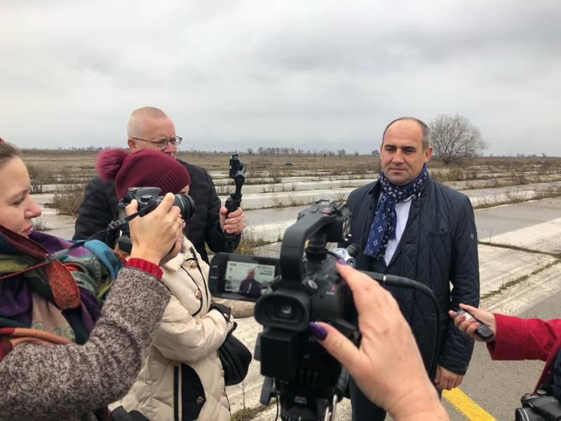 """Дан старт реконструкции аэропорта """"Измаил"""". Первые полеты планируются уже на 2021 год (ФОТОРЕПОРТАЖ, ВИДЕО)"""