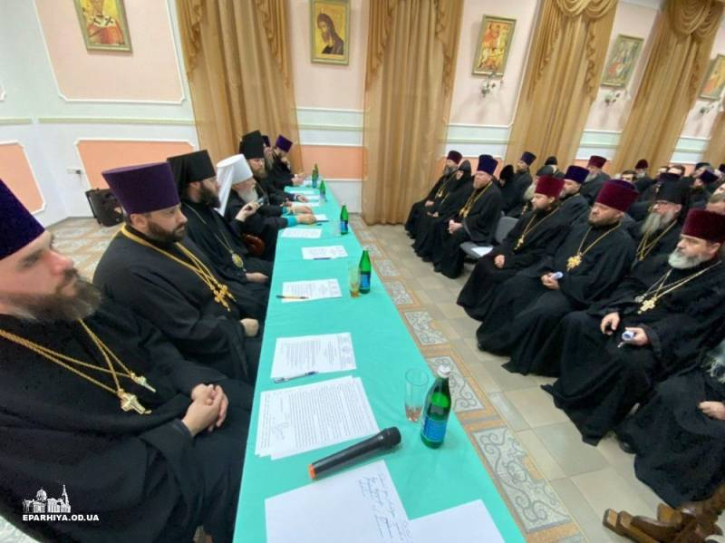 В Измаил съехалось духовенство всего юга Одесской области на  итоговое годовое Епархиальное Собрание
