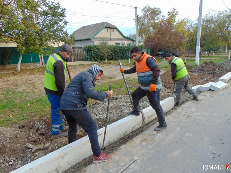 В Измаиле 2020 год объявили годом строительства детских садов,  ремонта тротуаров и внутридворовых проездов