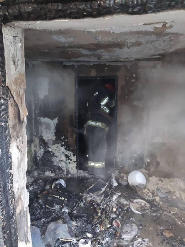 В Озерном Измаильского района горел жилой дом (ФОТО)