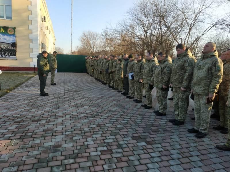 Пограничники Измаильского отряда почтили память боевого товарища, который погиб  под Дебальцево