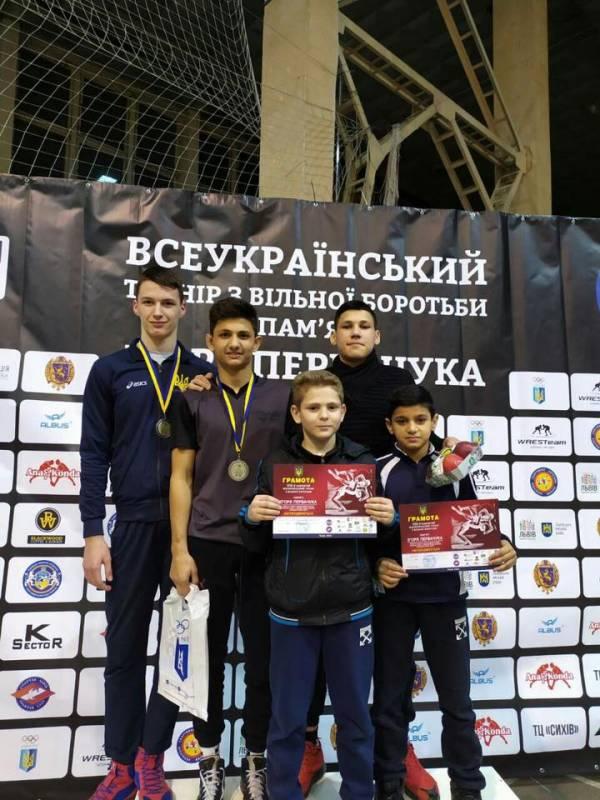 Измаильчане на турнире по вольной борьбе во Львове