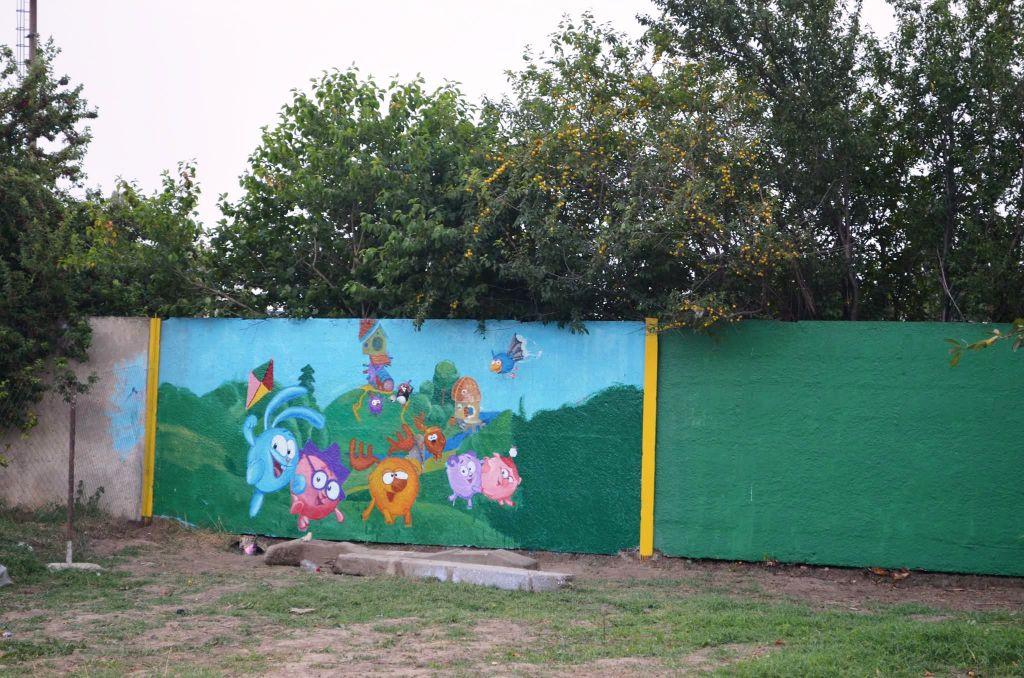 Уличные поделки для детской площадки