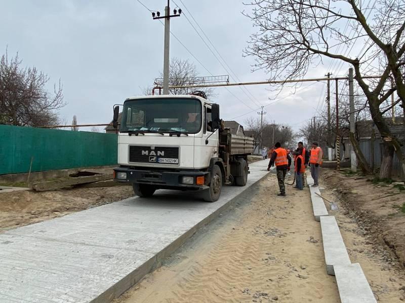 Впервые в Измаиле начали строить бетонные дороги: приступили к капремонту улицы Льва Толстого от ул. Ломоносова до ул. Нижнесадовой. (ФОТОРЕПОРТАЖ, ВИДЕО)