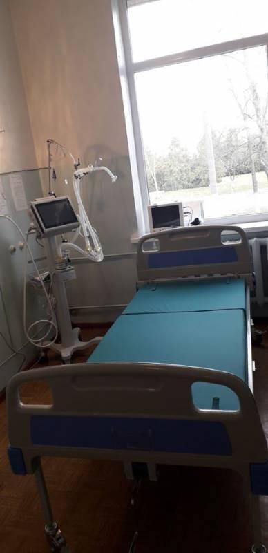 В Измаильскую ЦРБ закупили аппараты искусственной вентиляции легких, а также дезсредства и тест-системы