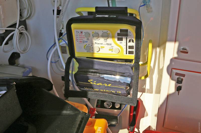 Измаил получит современные реанимобили, оснащенные портативными аппаратами ИВЛ и кардиографами