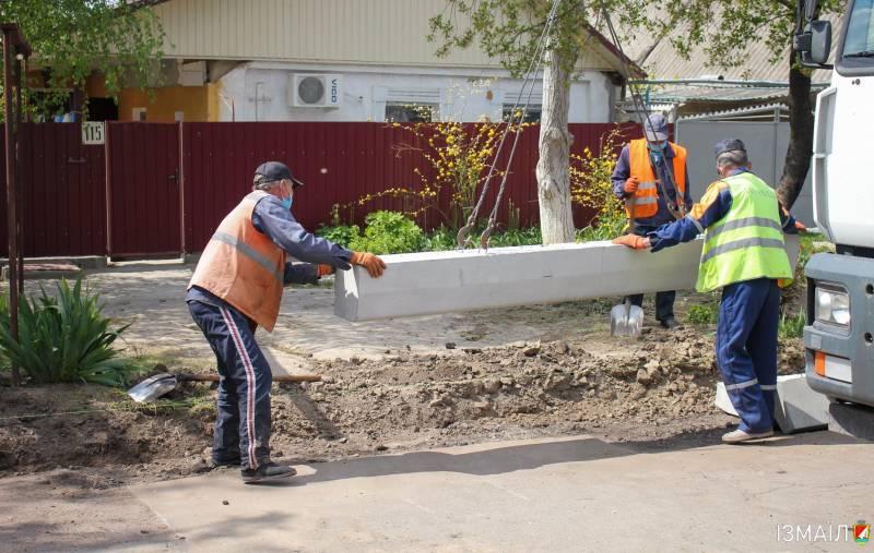 В Измаиле ремонтируют улицу Хотинскую (ФОТО)