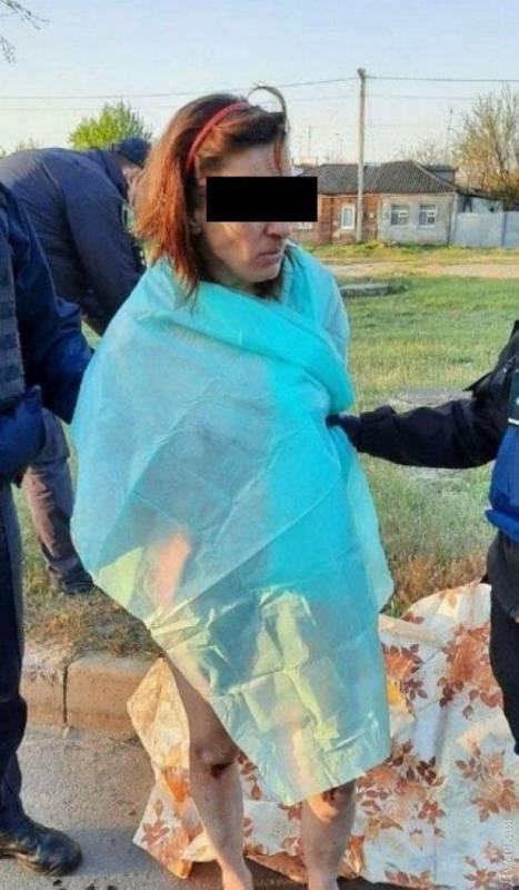 В Харькове задержали обнаженную женщину, которая ходила по улице с отрезанной головой дочери