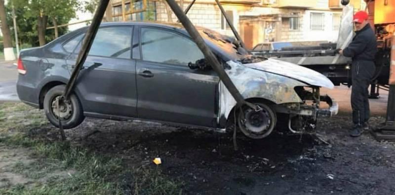 Автомобиль, сгоревший ночью в Измаиле, принадлежит активисту и автоблогеру - Город 24 (ФОТО)