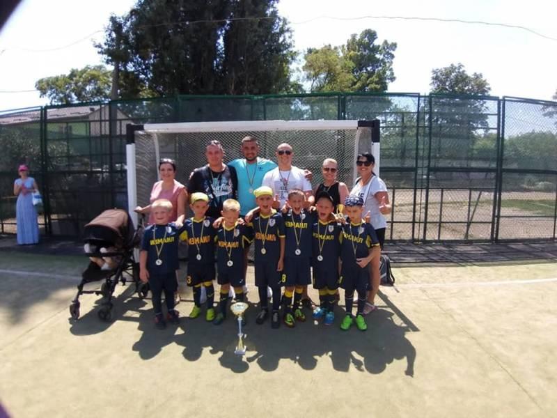 Измаильские футболисты-шестилетки отличились на Odessa Football Life - Город 24