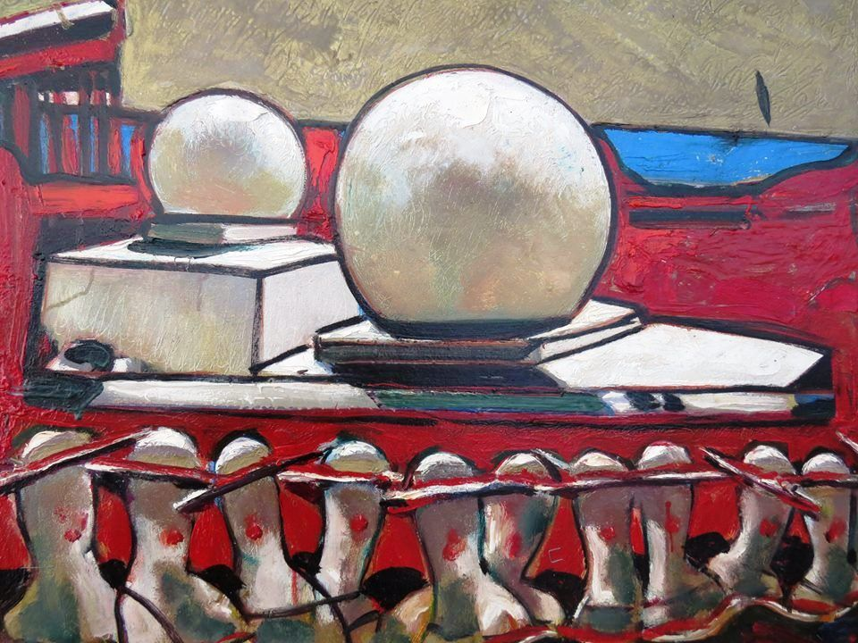 """Серпанки серпня"" художника Николая Прокопенко в Измаиле (ФОТО)"
