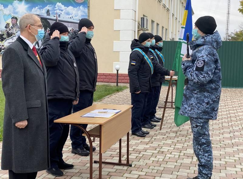 В Измаильском учебном центре Морской охраны 35 курсантов-срочников присягнули на верность Украине