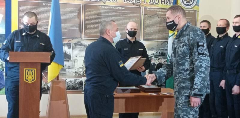 В Измаильском отряде Морской охраны отметили очередную годовщину основания