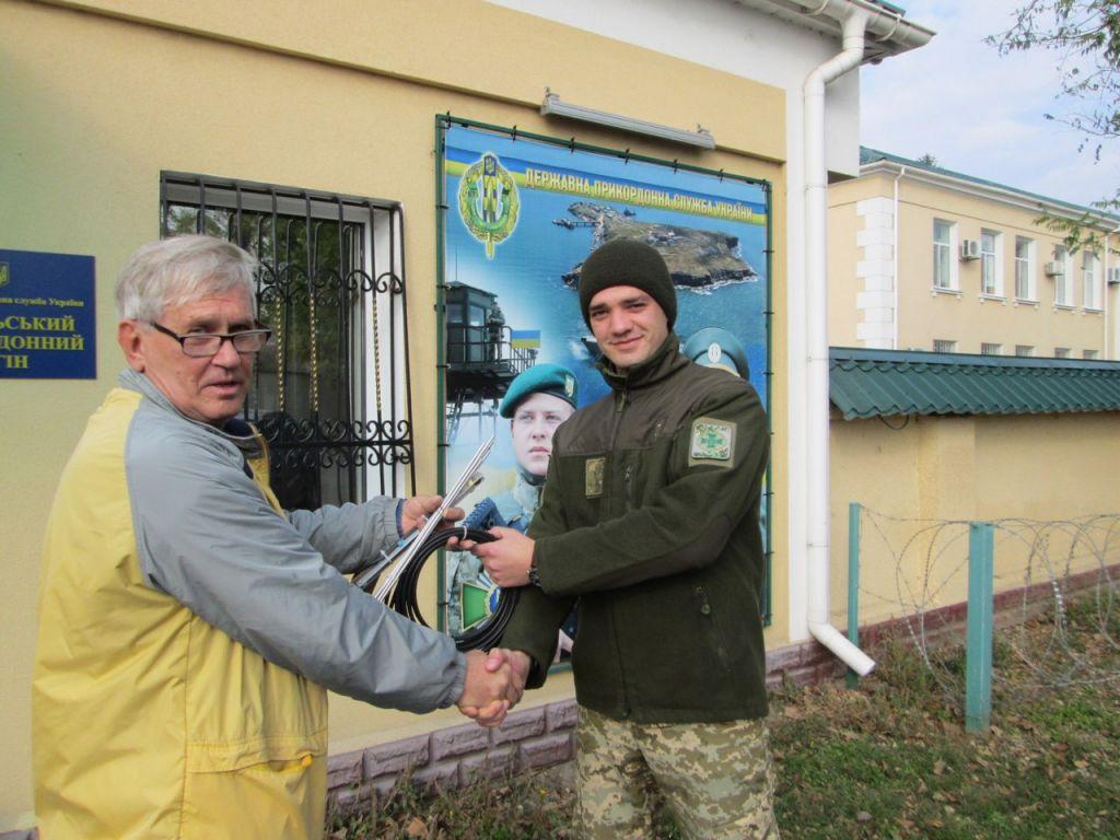 Воспитанники СЮТ Измаила решили внести собственный вклад в охрану границы