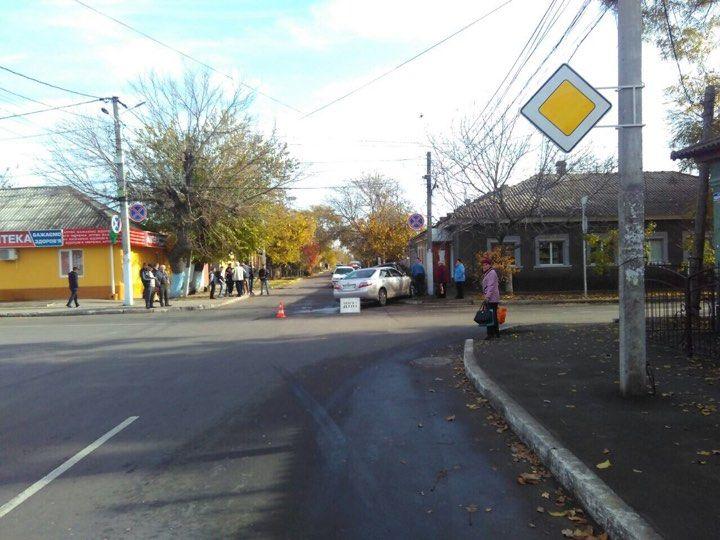 ДТП в Измаиле: Toyota ударила Volkswagen (ФОТО)
