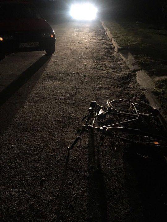 Под Измаилом сбили велосипедиста (ФОТО)