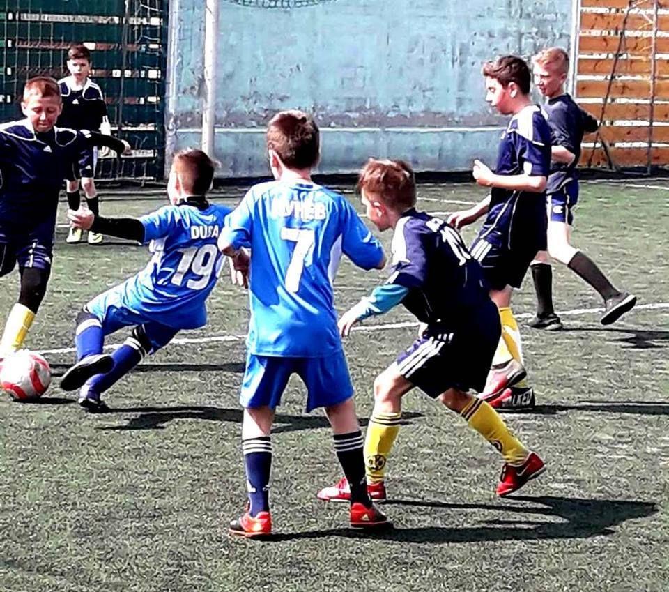В Измаиле стартовала футбольная лига среди детей