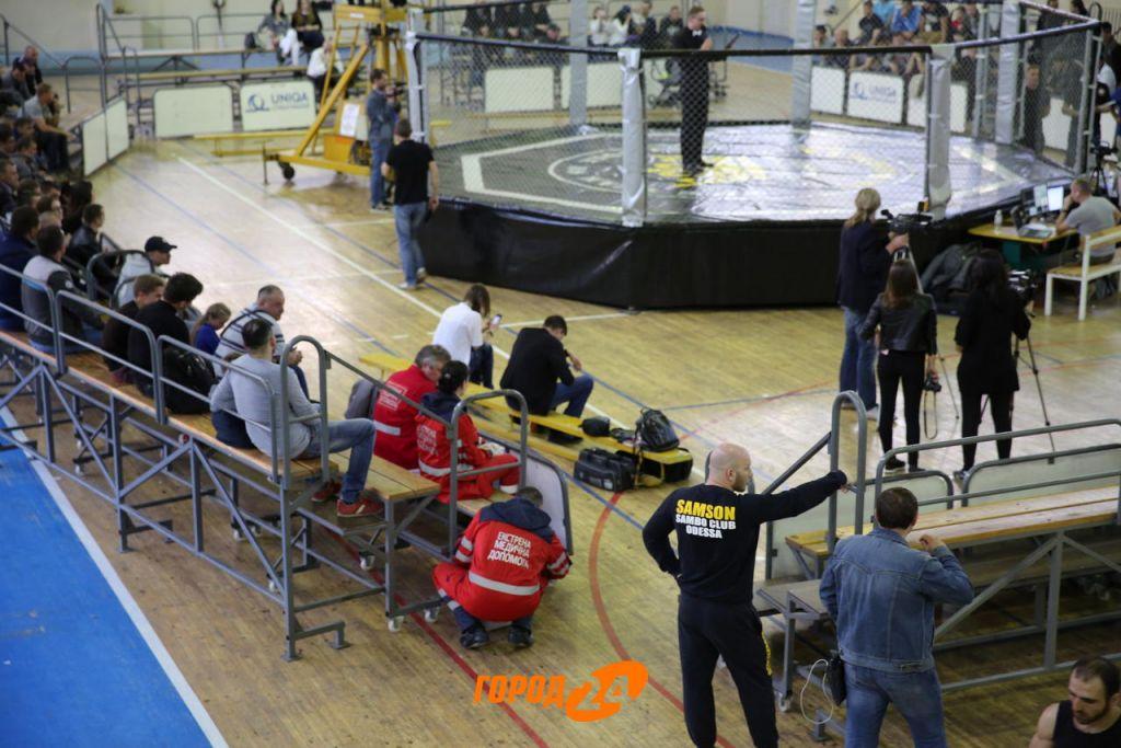 В Измаиле прошел международый масштабный турнир смешанных единоборств  (ФОТО)