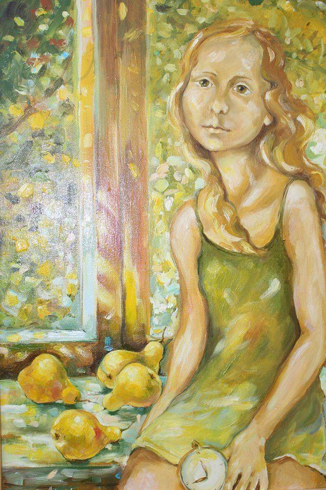 Измаильская художница Анастасия Попова пригласила горожан на персональную выставку «С весною в сердце»