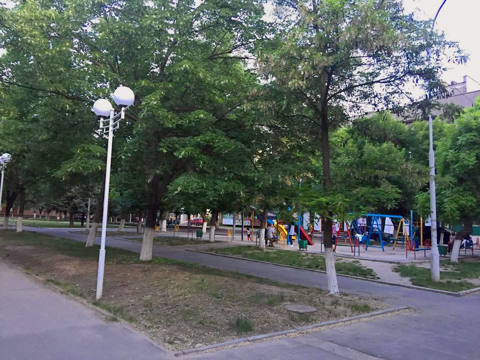 В Измаиле строят Детский парк (ФОТО)