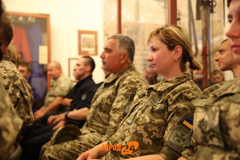 В Измаиле военные встречались с Сергеем Лёвиным (ФОТО)