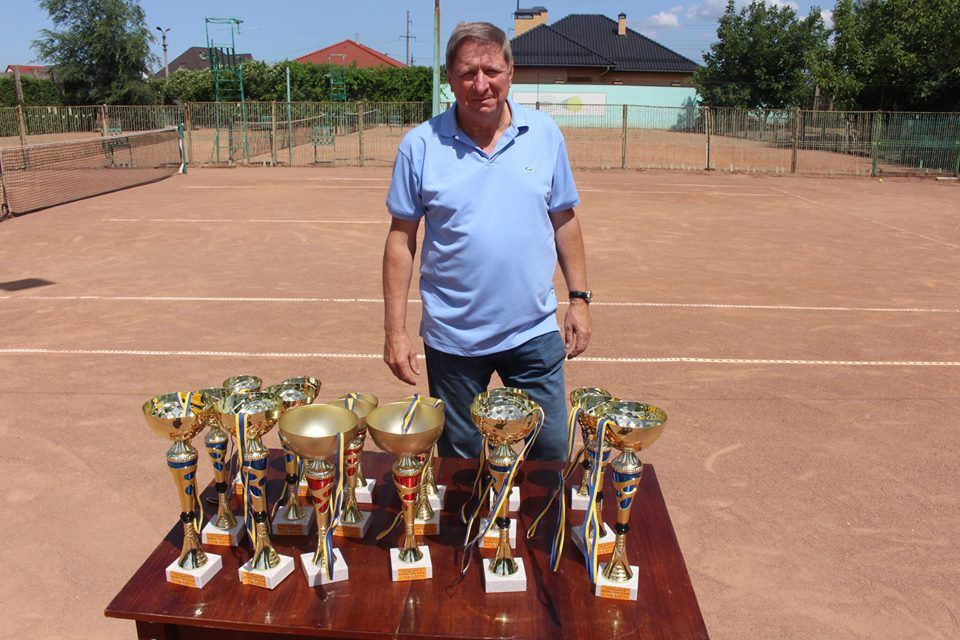 В Измаиле на «Фрегате» прошёл именной теннисный турнир Владимира Борисова (ФОТО)
