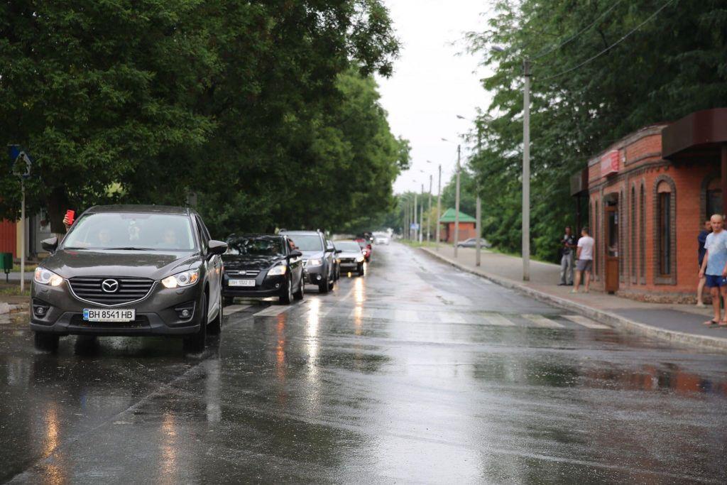 В Измаиле прошел масштабный автопробег (ФОТО)