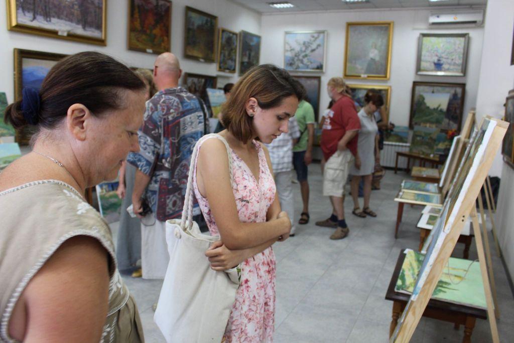 В Измаиле состоялась итоговая экспресс-выставка художественного пленэра (ФОТО)