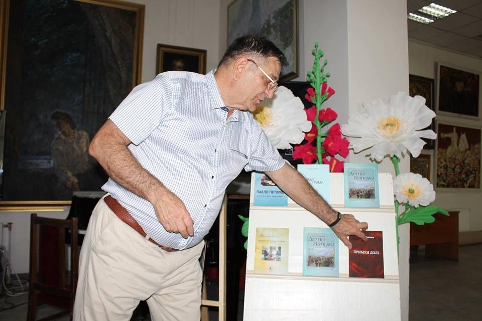 В Измаиле состоялась презентация книги Валерия Азманова «Дети Ялпуга»