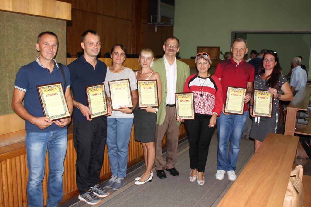 В Измаиле чествовали спортсменов в честь Дня физкультуры и спорта (ФОТО)