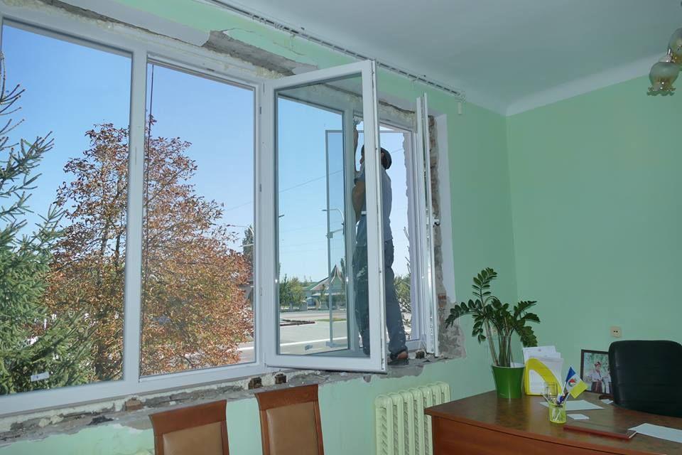 В Измаиле ремонтируют Центр досуга «Портовик» (фоторепортаж)