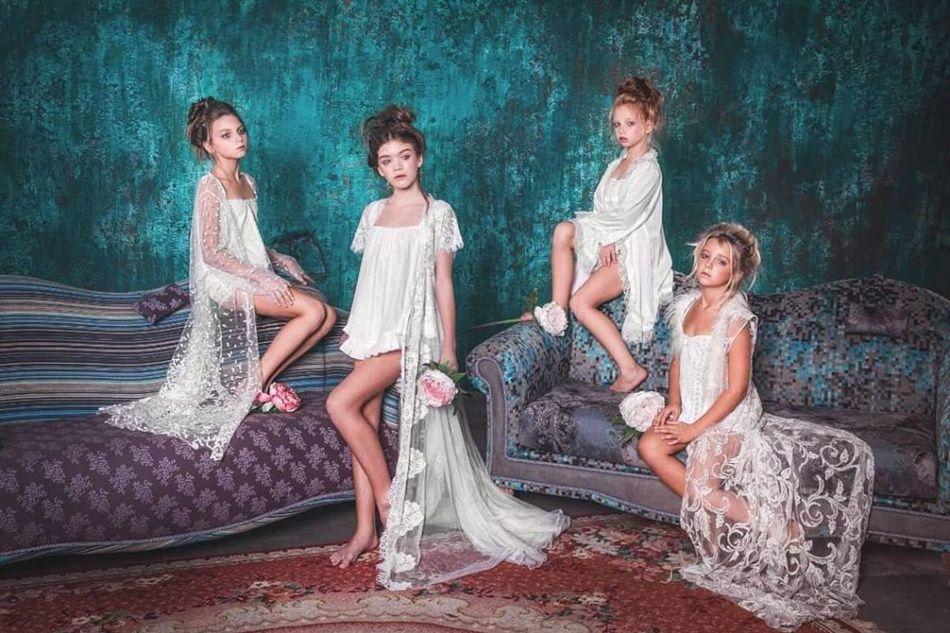 Скандал в Одессе: 12-летних школьниц сняли в откровенной рекламной фотосессии