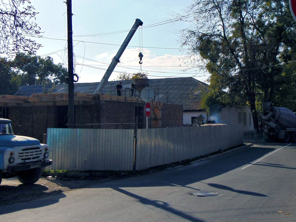 В Измаиле строят дом на 17 квартир по программе социального жилья (ФОТО)