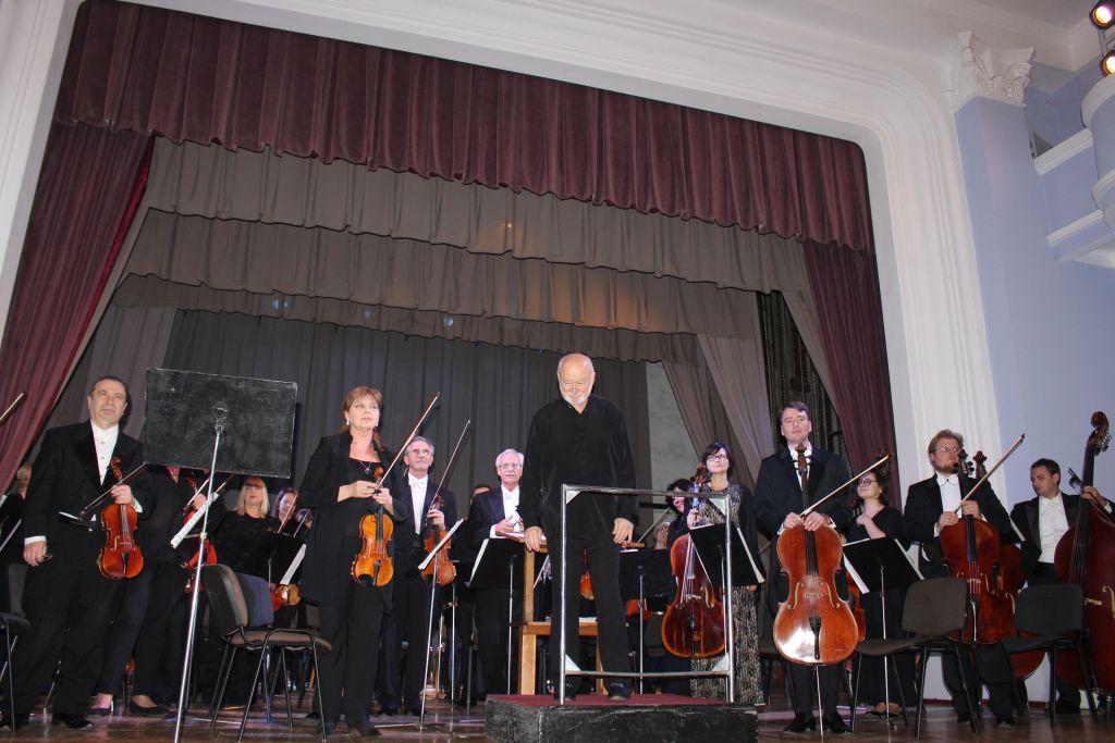 Измаил посетил с гастрольным концертом Национальный Одесский филармонический оркестр