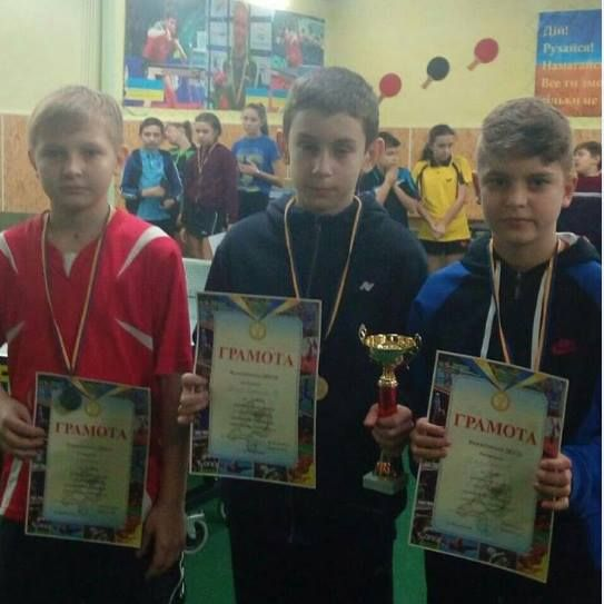Прославляли школу измаильского тенниса в Вознесенске