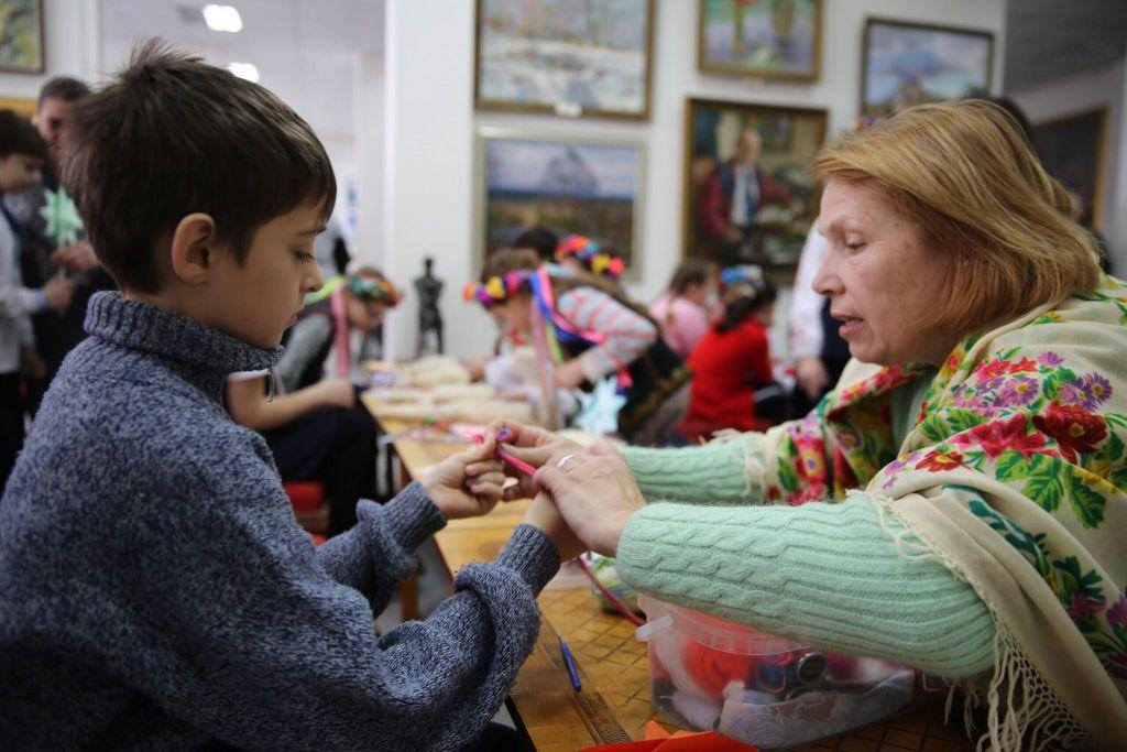 В Измаиле исполняли колядки и учили обрядам Рождества