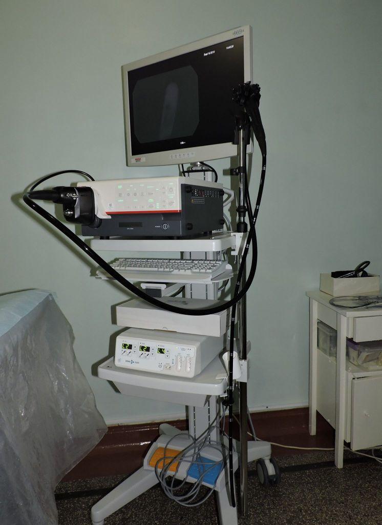Для Центральной районной больницы приобрели новый современный медицинский аппарат - видеогастроскоп