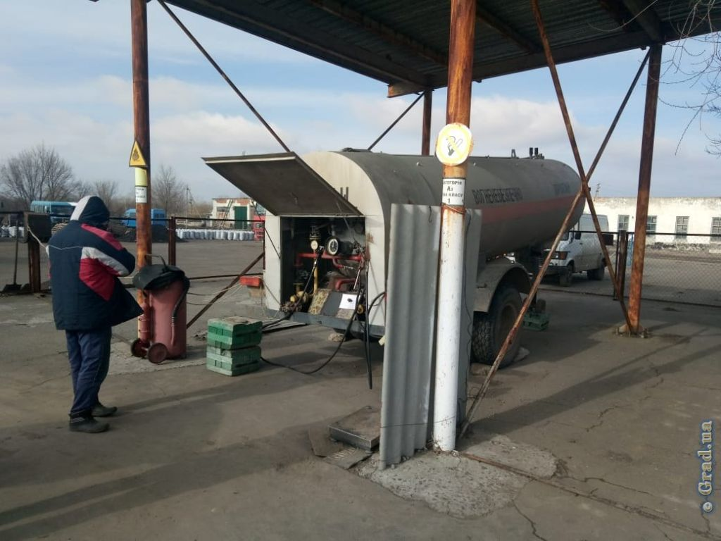 В Одесской области пресекли незаконную торговлю газом