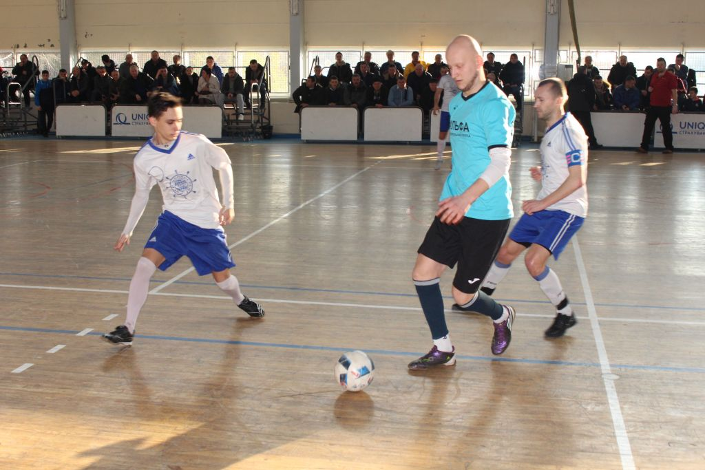 На четвертьфинале Кубка Измаила по футзалу (ФОТО)