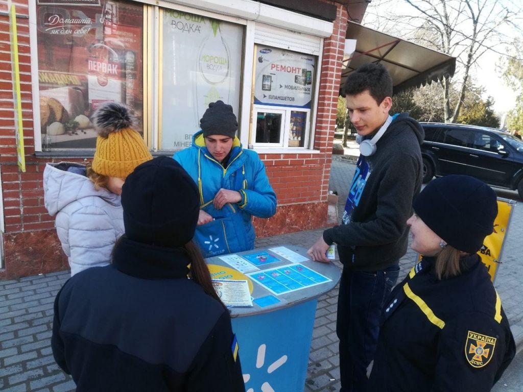 Спасатели Измаила проводят разъяснительную работу среди населения (ФОТО)