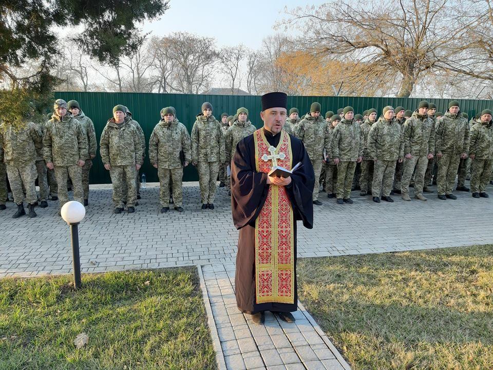 Пограничники Измаильского отряда почтили память погибшего Героя Украины капитана Вячеслава Семенова