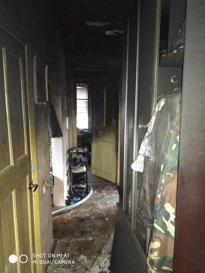 В Измаиле горела квартира в многоэтажке (ФОТО)