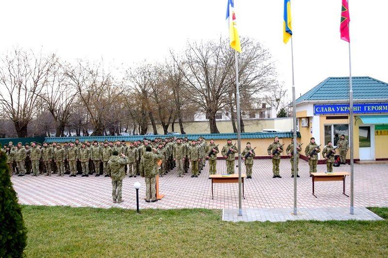 В Измаильском пограничном отряде присягнули на верность украинскому народу