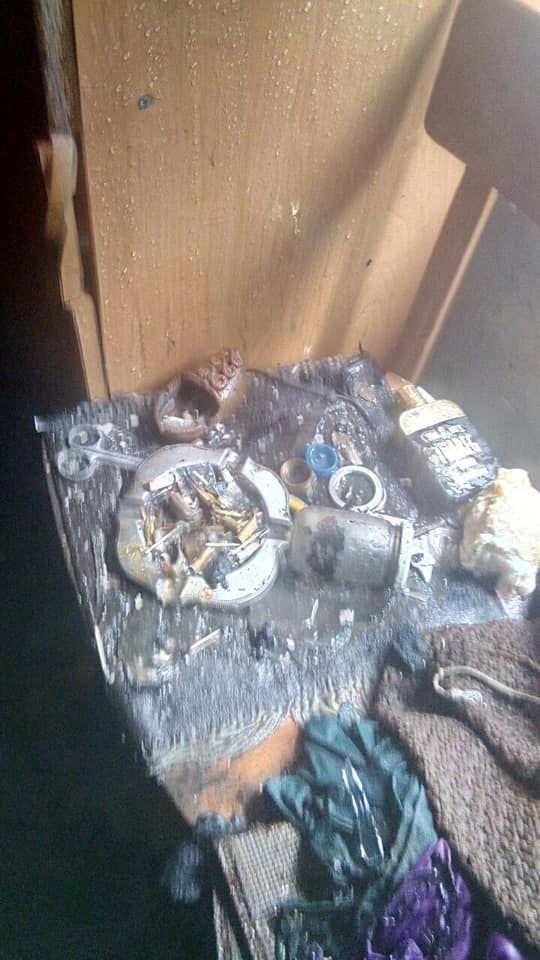 В Измаиле тушили пожар в частном доме (ФОТО)