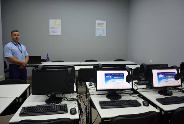 В Измаиле открылся сервисный центр для моряков (ФОТО)