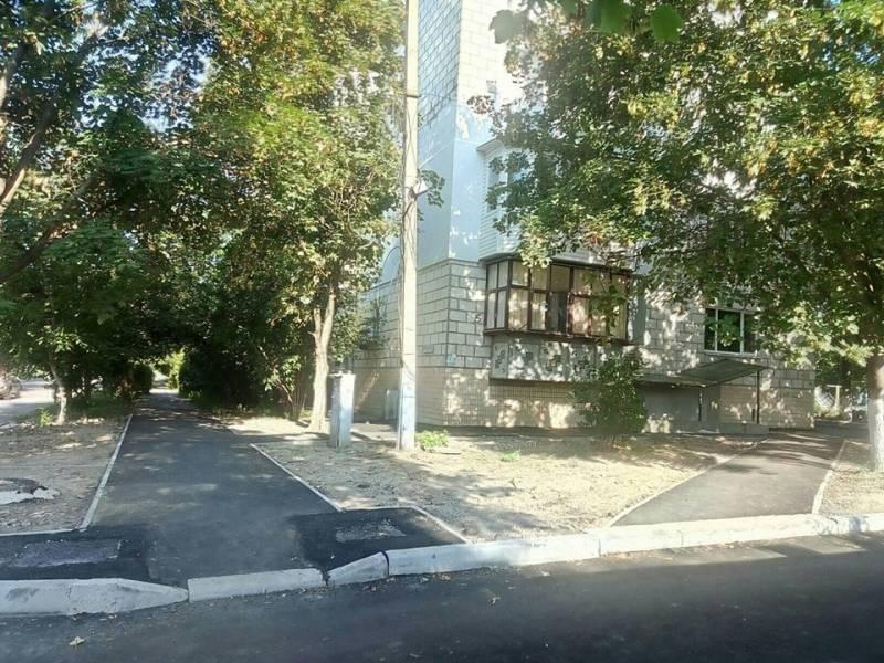 Обещанное выполнил: жители многоэтажки на Фанагорийской благодарят мэра Измаила за работы по благоустройству двора