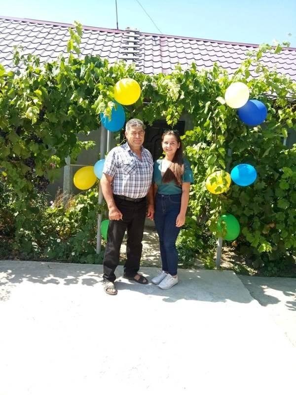 В Измаильском районе девушке-сироте подарили дом (ФОТО)