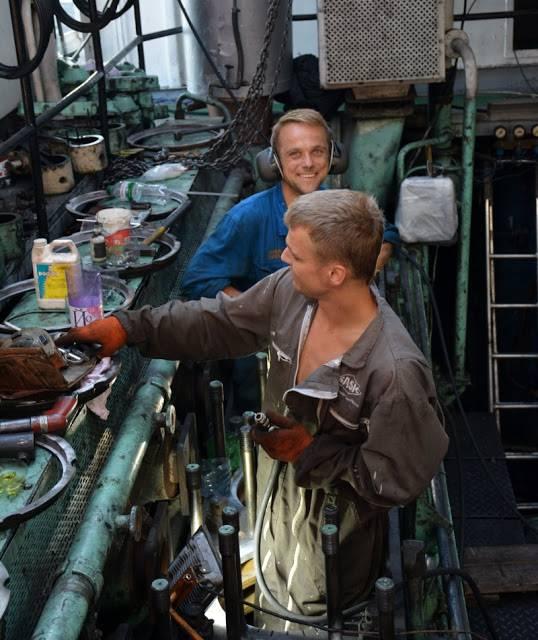 "В Измаиле ремонтируют теплоход УДП ""Лука Капикраян"" (ФОТО)"
