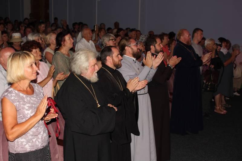 В Измаиле с концертом побывал Александр Клименко - священник, чей голос был признан лучшим в стране (ФОТО)